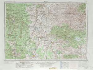 map of madras oregon bend topographic maps or usgs topo 44120a1 at 1