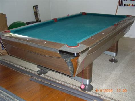 national pool table company 1969 fischer duchess pool table