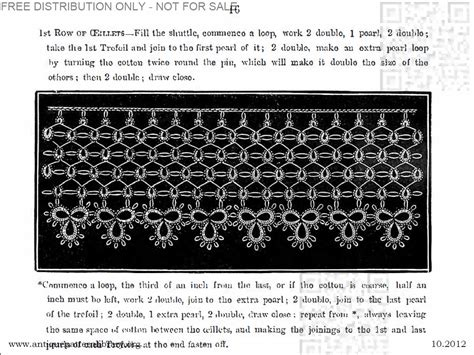 antique pattern library tatting apl eleanor riego de la branchardiere royal tatting book