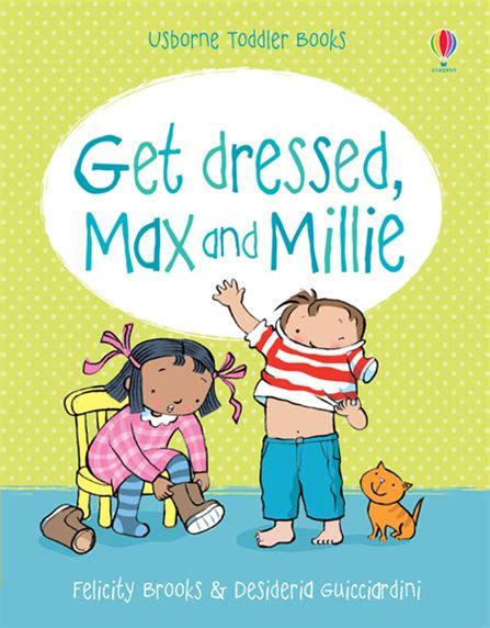 why do i millie books get dressed max and millie at usborne books at home