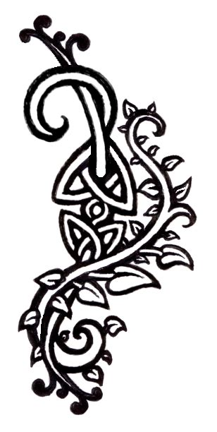 shamrock vine tattoo designs celtic tattoos and designs page 284