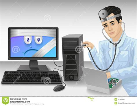 Popok Perekat Dr P Xl 8 Pcs Dr P Xl Isi 8 Pcs pc doctor stock vector image of defense firewall computer 32282830
