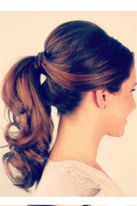 pretty hair styles with wand 13 stunning ponytail hairstyles for curly hair pretty