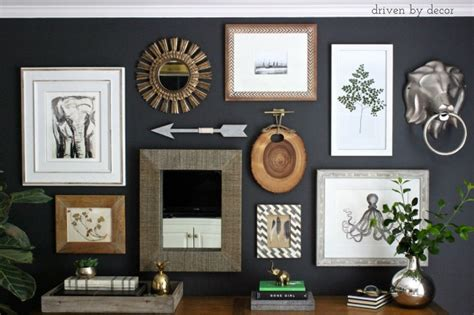 my gallery wall resource list driven by decor