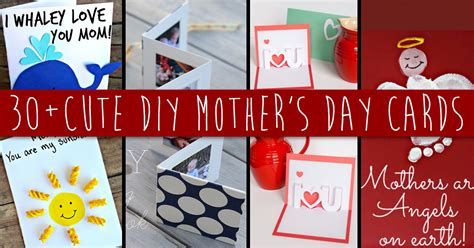 creative mothers day cards to make 30 and creative diy s day cards every child