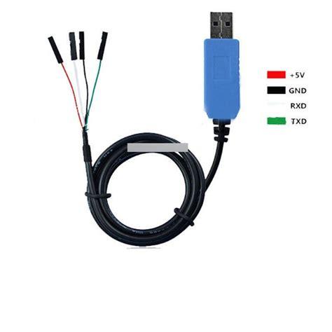 Kabel Konverter Usb Pl2303ta To Rs232 Black pl2303ta usb ttl rs232 225 talak 237 t 243 soros k 225 bel modul