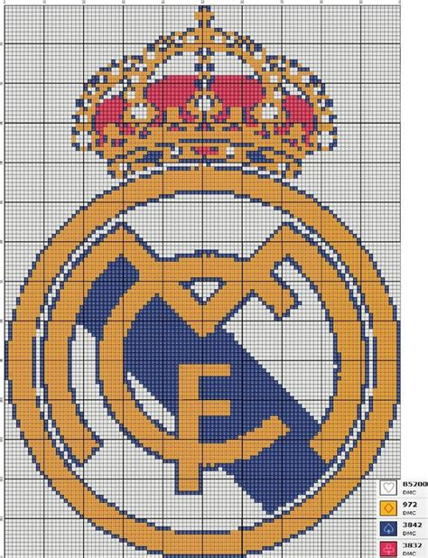 pattern là gì real madrid x stitch pattern by saranna2195 on deviantart