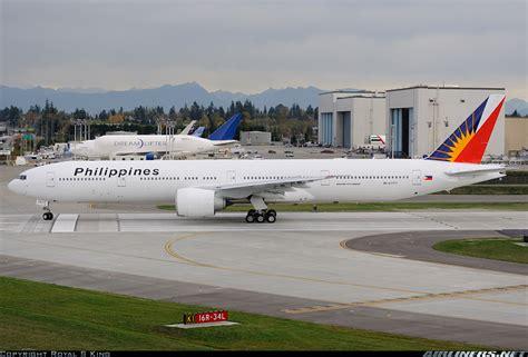 philippine airlines boeing 777 flights boeing 777 36n er philippine airlines aviation photo