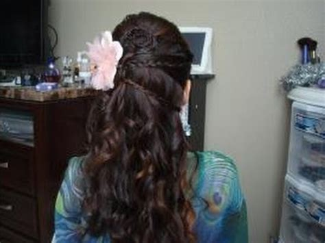 special occasion hairstyles half up half down beautiful half up half down hair styles for wedding prom