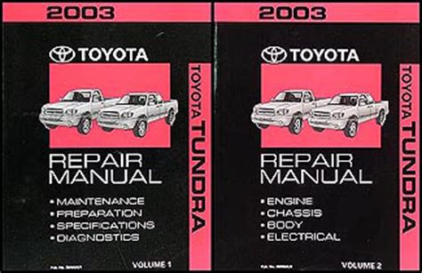 service manual manual repair autos 2003 toyota sequoia electronic toll collection service 2003 toyota tundra repair shop manual original