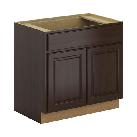 home depot hickory base cabinets hton bay 36x34 5x24 in hton base cabinet in