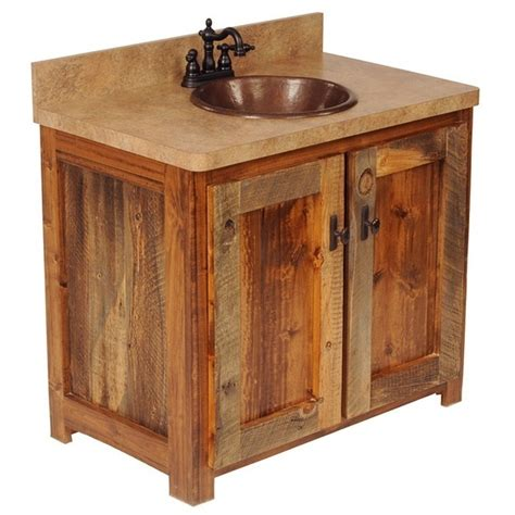 barn wood bathroom barn wood vanity for the home pinterest
