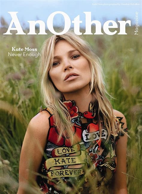 Lepaparazzi News Update Olivier With Two New Brunettes by Kate Moss On Another Magazine 2014 F W Covers