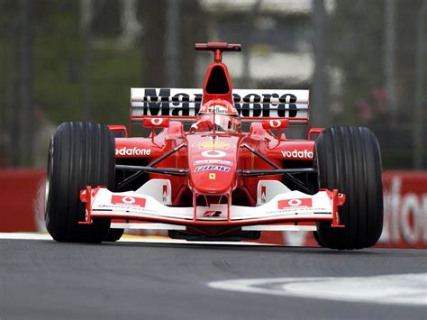 Ferrari F2003 by 2003 Ferrari F2003 Ga Formula One F 1 Race Racing G