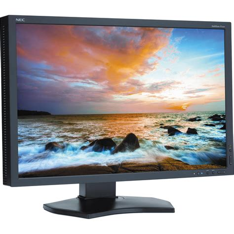 Monitor Lcd Ips nec p242w bk 24 quot led backlit ips lcd monitor p242w bk b h