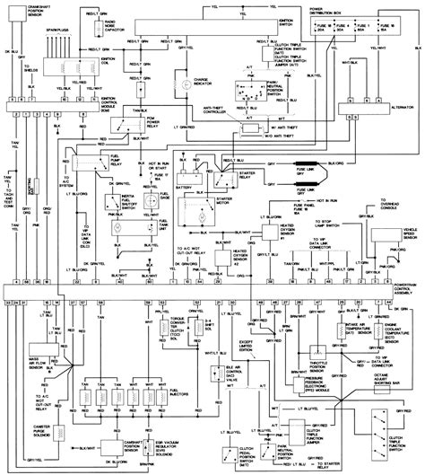 93 ford ranger truck wiring diagram 93 get free image