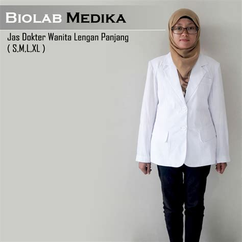 Dokter Kandungan Wanita Yang Bagus Di Tangerang Jas Dokter Wanita Lengan Panjang Snelli Biolab Medika