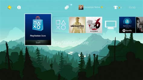 themes ps4 com ps4 gets two beautiful and atmospheric dynamic themes
