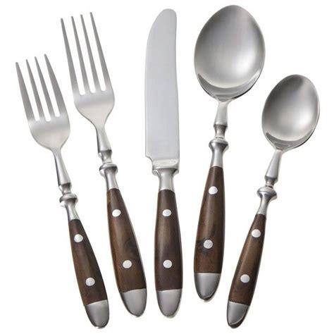 Sendok Teh Stainless Steel Bistro Set chefs stainless steel bistro flatware set 20