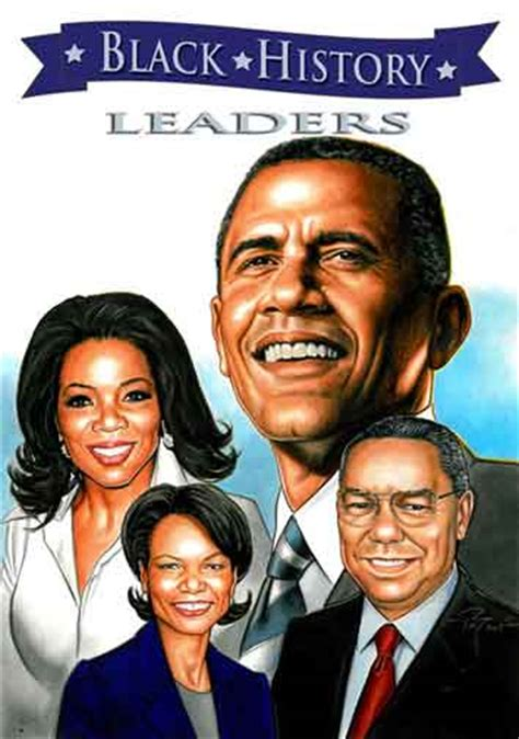leaders bold in black history books the graphic classroom february 2011