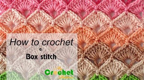crochet how how to crochet a box stitch free crochet pattens