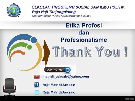 Moral Dan Etika Elit Politik etika profesi profesionalisme dan kode etika