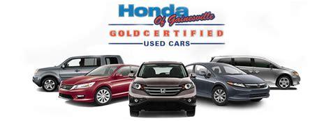 honda of gainesville fl certified pre owned honda warranty used car dealer in