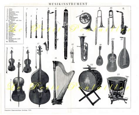 the encyclopedia of instruments of the orchestra and the great composers books orchestra musical instruments 1923 design