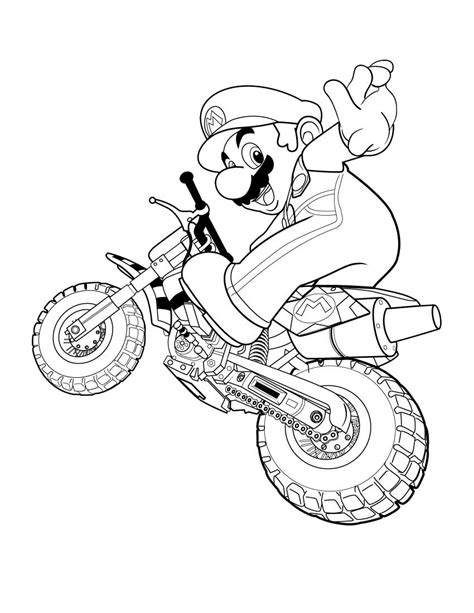 coloring page mario super mario coloring pages free printable coloring pages