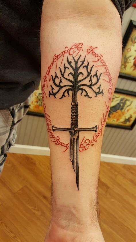 lotr tattoo collection of 25 lord of the rings