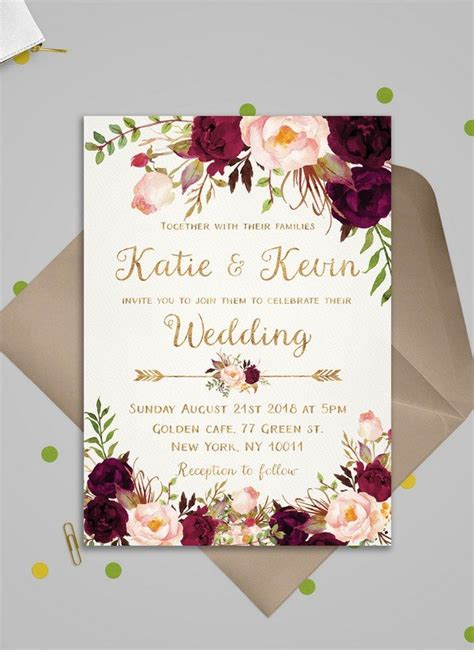 Wedding Invitation 2018 oh best day all about wedding ideas and colors