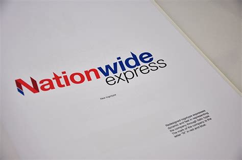 nationwide express corporate identity  pantone canvas