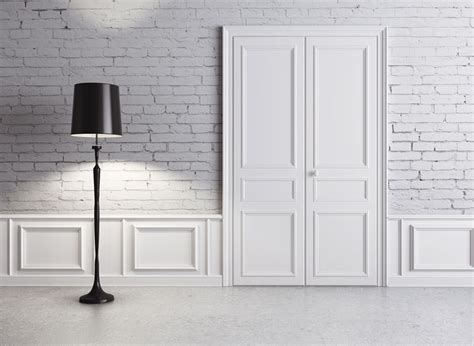 doors for walls retro door and brick wall design villa outdoor 3d house