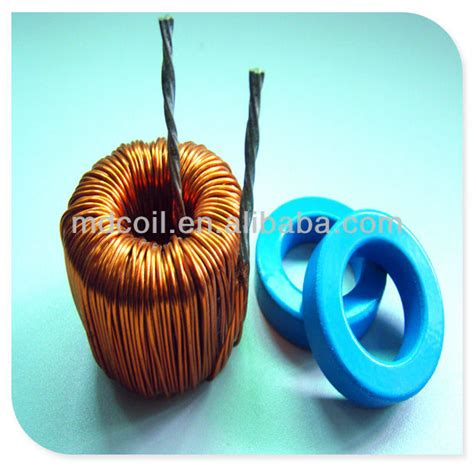 high flux inductor mpp high flux sendust power inductor rohs for storing energy