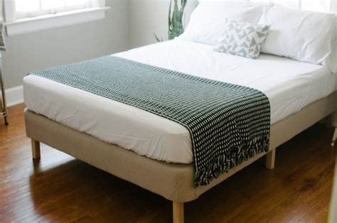 bed frame with box spring make a bed frame out of a box spring make pinterest