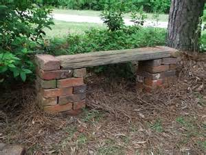 how to make a brick bench secrets of a seed scatterer do daylilies and a bench