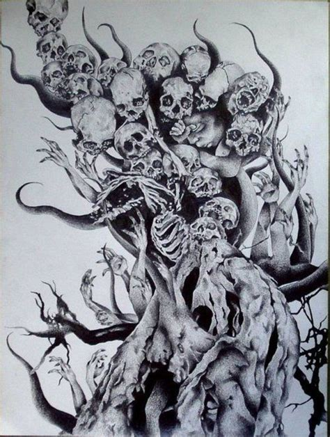 1000 ideas about cool skull drawings on pinterest skull