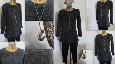 Linea Tunik Grey the black linea leisure tunic 171 louis dell olio