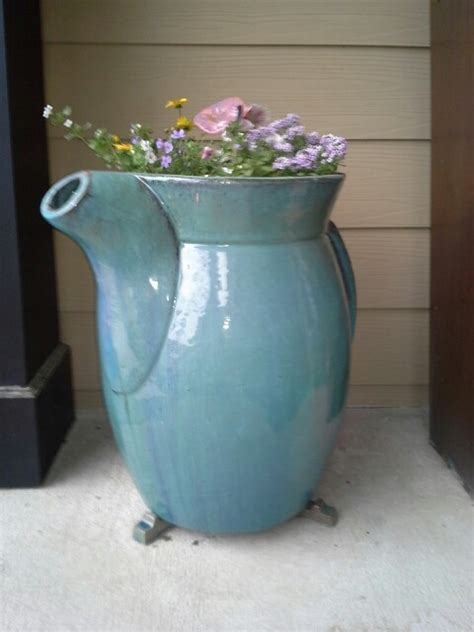 Tea Pot Planter by Teapot Planter Container Gardening