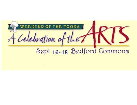 celebration   arts weekend   pooka home facebook