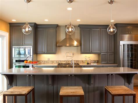 finishing kitchen cabinets ideas ideas for painting kitchen cabinets pictures from hgtv