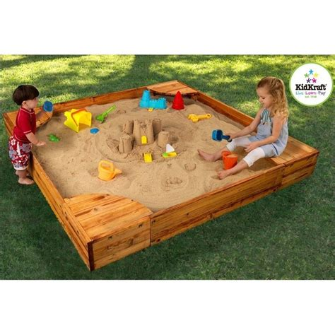 kidcraft backyard sandbox kidkraft backyard sandbox sandboxe ebay