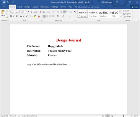 design journal solidworks how to use the solidworks design binder in parts and