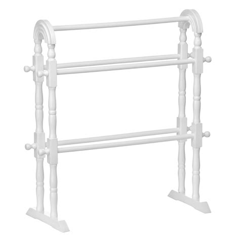 White Wooden Towel Rack bathroom standing towel rack exles for better bathroom organization free standing towel