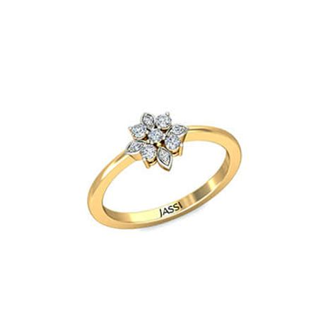 radiant womens gold ring augrav personalized
