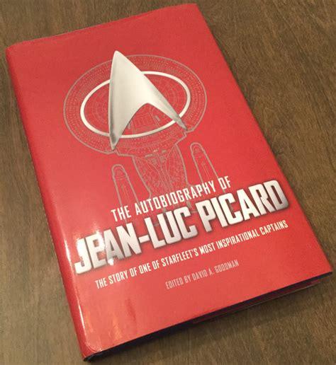 Trek Novel The Autobiography Of T Kirk review the autobiography of jean luc picard adds new