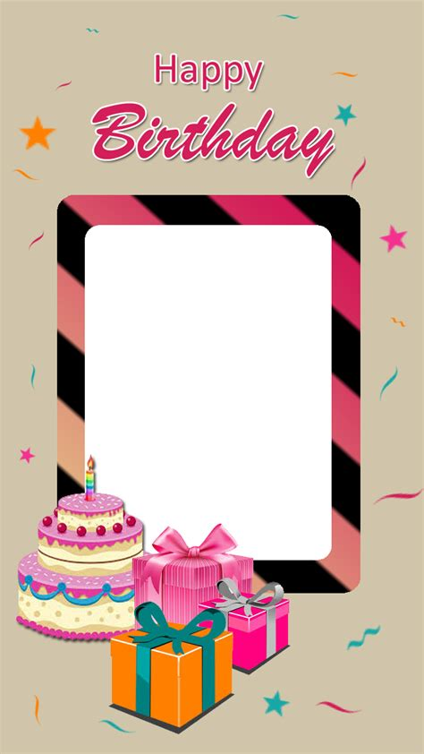 Frame 6r Happy Birthday cool new year frame freeproducts