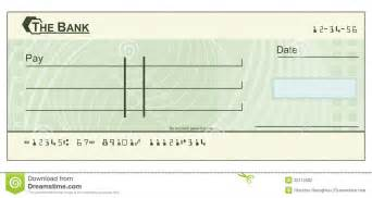 blank cheque illustration stock photography image 20112002