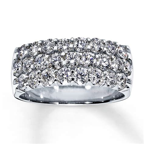Anniversary Rings by Jared Anniversary Ring 1 1 2 Ct Tw Cut 14k