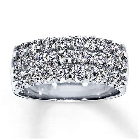 jared anniversary ring 1 1 2 ct tw cut 14k